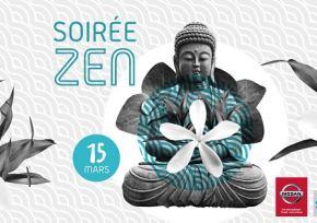 Nissan Cars Diffusion 87 partenaire de la Soirée Zen à l'Aquapolis de Limoges! 15 mars 2018