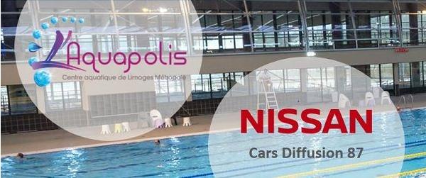 4 ans de partenariat pour NISSAN Limoges et l'Aquapolis !