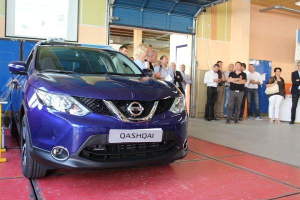 Le Nissan QASHQAI au lycée Saint-Exupéry à Limoges !