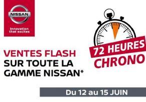 Ventes Flashs exceptionnelles du 12 au 15 juin NISSAN Tarbes!