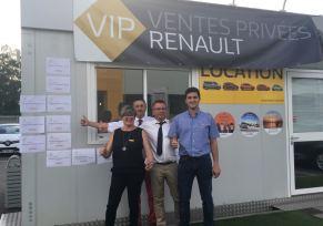 Ventes Privées Véhicules d'occasions chez Renault Tarbes ! Vendredi 8 juin dernier