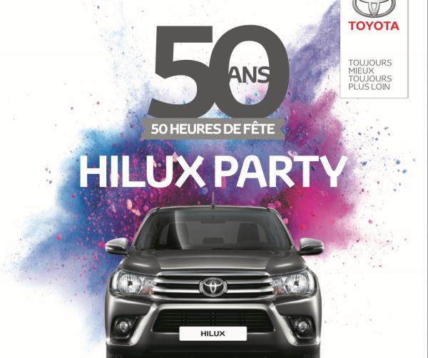 6 JUILLET : HILUX PARTY