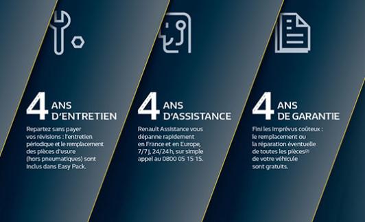 Renault : Découvrez Easy Pack