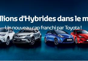 12 Millions d'Hybrides dans le Monde