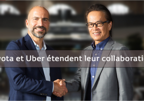 Toyota et Uber étendent leur collaboration