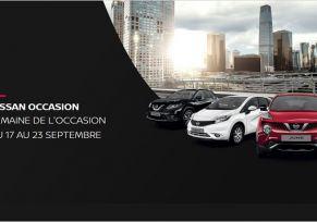 La semaine de l'occasion chez NISSAN du 17 au 23 septembre!