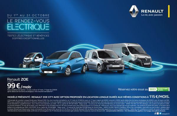 Renault : Le Rendez-vous Electrique