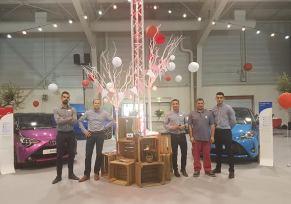 Toyota Cahors au Salon de l'Auto de Cahors 2018