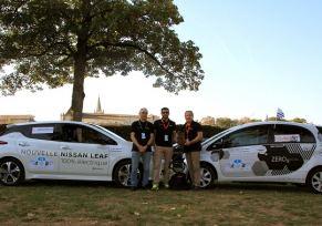 Nissan Limoges partenaire du TOUR VÉHICULES ELECTRIQUES avec la Nouvelle Nissan Leaf