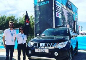 Mitsubishi Motors est Fournisseur Officiel du Roc d'Azur