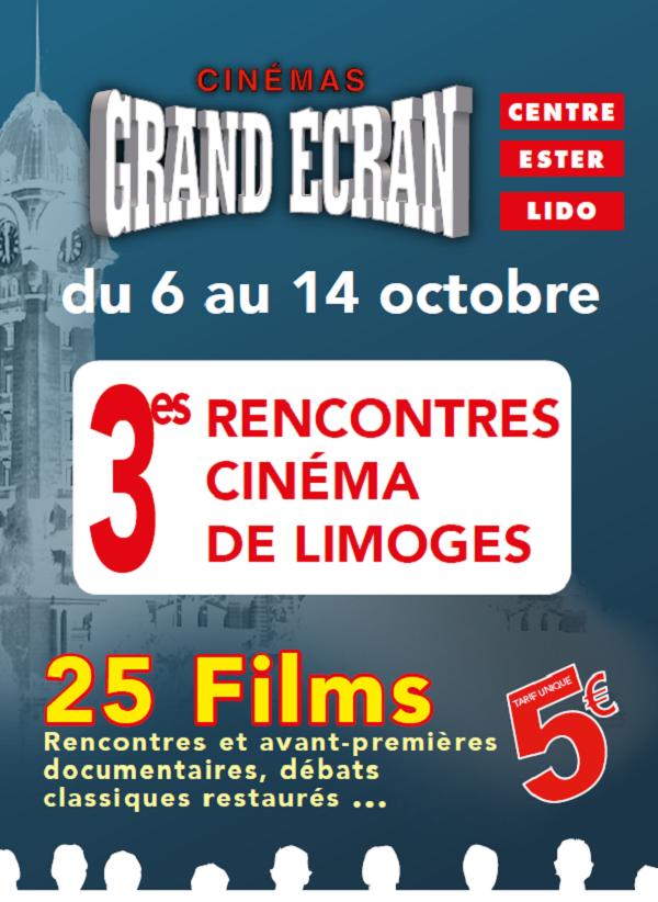 Nissan Limoges partenaire des rencontres cinématographiques du  6 au 14 octobre!
