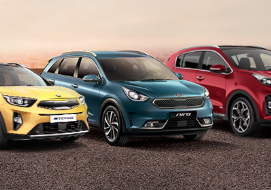 Gamme CrossOvers et SUV Kia