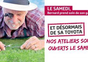 NOS ATELIERS SONT OUVERTS LE SAMEDI !