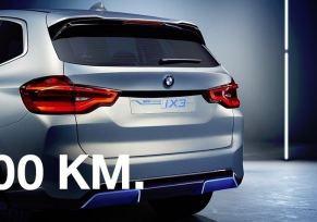 BMW iX3. 100% électrique.