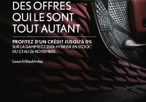 LEXUS FAIT SON BLACK FRIDAY !