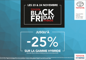 BLACK FRIDAY TOYOTA