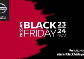 BLACK FRIDAY AUTO NISSAN Groupe edenauto!