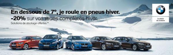 Avec BMW profitez de remises sur les roues complètes hiver