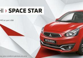 Découvrez Mitsubishi : Space Star