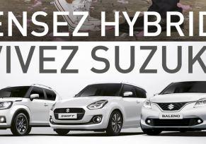 Pensez Hybride, Vivez Suzuki