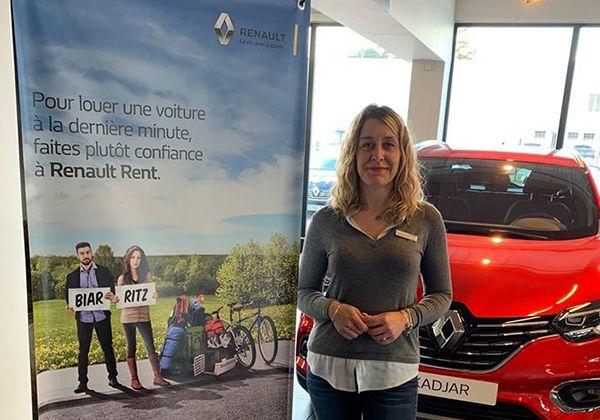 Renault Rent, service de location de véhicules
