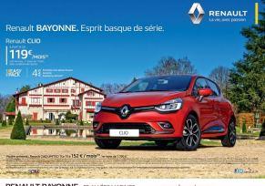 Nouvelle campagne Clio à Bayonne