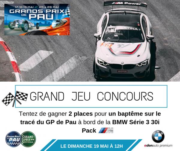 JEU CONCOURS GP de PAU