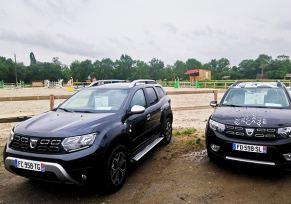 edenauto Dacia Auch partenaire du  Haras du Rambert à Preignan