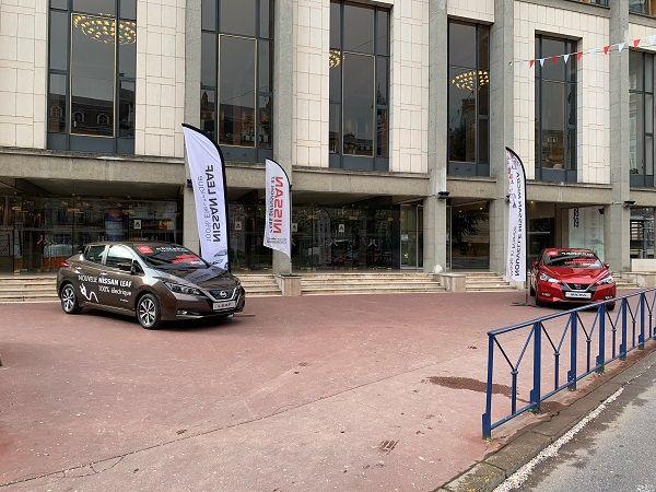 La nouvelle Nissan LEAF 100% électrique et la Nissan MICRA à l'honneur à l'Opéra de Limoges