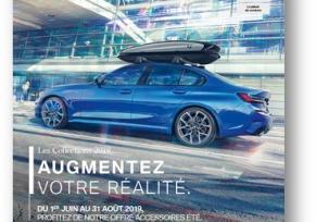 Accessoires Eté 2019 BMW.