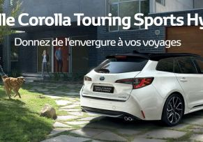 Nouvelle Toyota COROLLA TOURING SPORTS HYBRIDE
