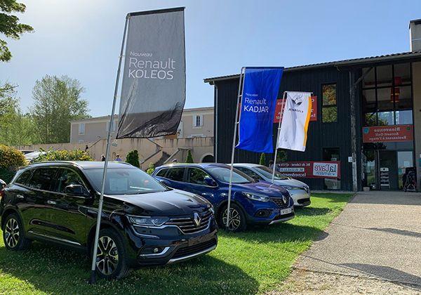 Renault Tonneins à la Golfy Cup