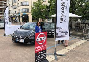 Nissan Périgueux au Salon Vivant des Véhicules Electriques