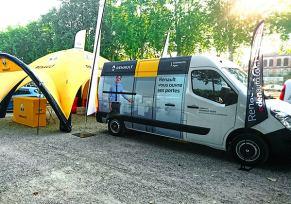 Un bureau mobile Renault pour Agen