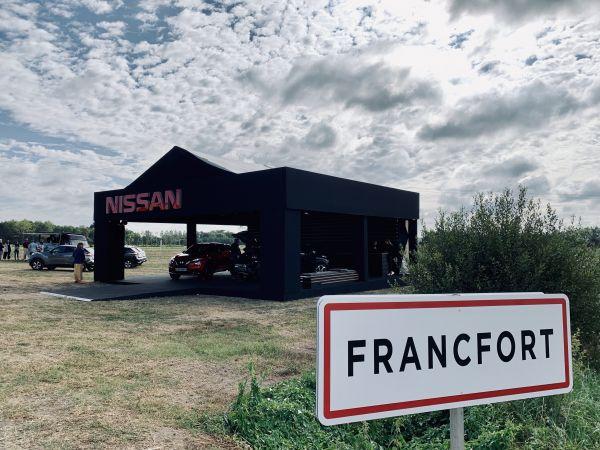 EXCLU : edenauto Nissan était à Francfort !