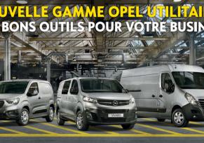 Journées Opel Pros : La Nouvelle Gamme Opel Utilitaires !