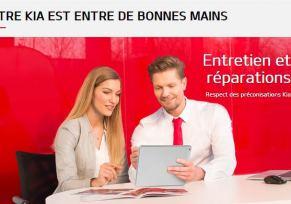 Kia : entretien et réparations