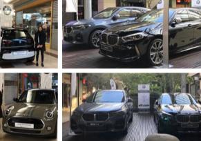 EXPOSITION BMW ET MINI