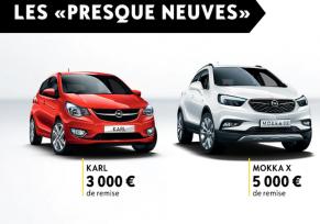 """Venez découvrir les """"Presque Neuves"""" Opel !"""