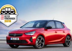 La nouvelle Opel Corsa élue « Voiture de société de l'année »