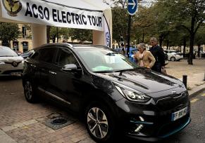 Kia participe au premier Electric Tour