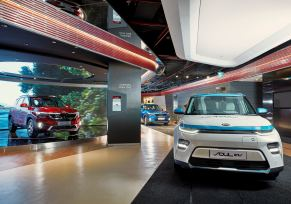 Kia Motors ouvre un centre d'expérimentation de la marque « BEAT360 » à Delhi en Inde