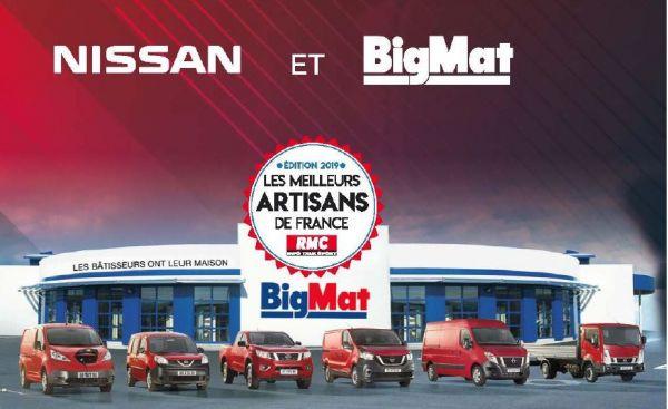 Nissan, partenaire des Meilleurs Artisans de France
