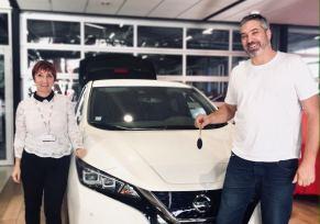 La première Nissan Leaf 62kW livrée à Bordeaux !