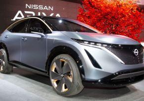 Concept car Nissan Ariya : un crossover 100% électrique