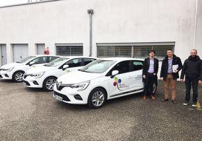 De nouvelles Clio pour la Maison de retraite de Castelmoron-sur-Lot