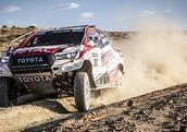 Programme test Hilux Dakar