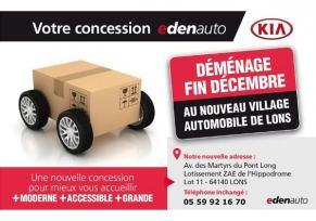 Actu automobile: Concession transférée - Ouverture du village automobile edenauto Pau