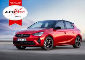 Les nouvelles Opel Corsa et Corsa-e remportent le prix AUTOBEST : « Best Buy Car of Europe 2020 »