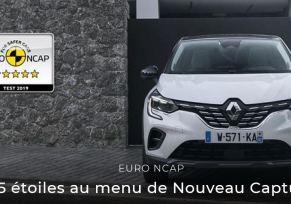 Nouveau Captur, le SUV 5 étoiles !